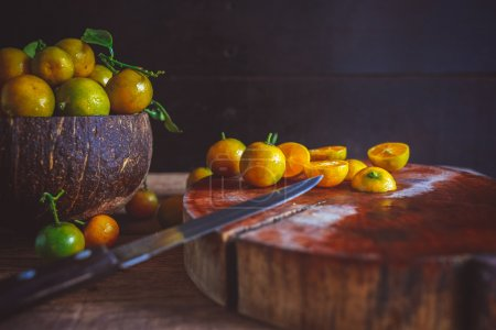 Yellow Vietnamese Kumquats