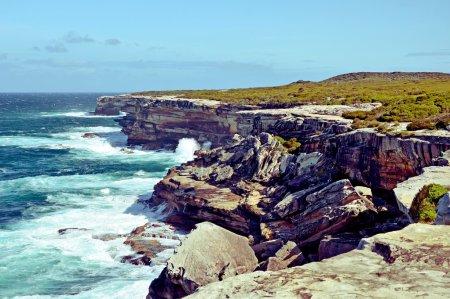 Rugged Cape Solander coastline