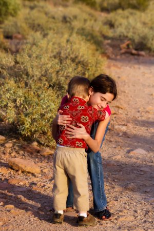Hug For Little Brother