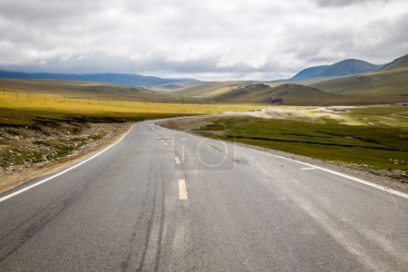 Photo for The winding mountain road. - Royalty Free Image