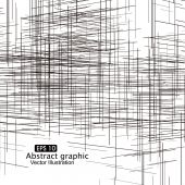 With perspective lines composition abstract graphicsDigital world of the future