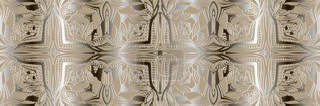 Illustration pour Contexte abstrait. Modèle simple sans couture. Dentelle de style monogramme. Texture vectorielle peut être utilisé pour la conception Web, papier peint, textiles, matériaux imprimés et ainsi de suite . - image libre de droit