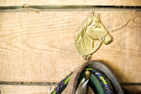 Figurine of a horse on the hook