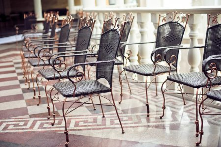 Beautiful wrought iron chairs