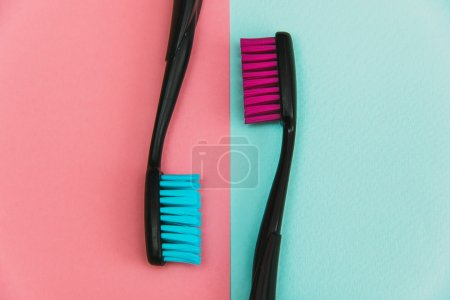 crazy colored toothbrushes