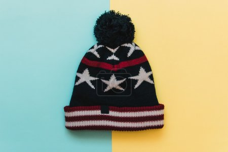 cap with stars and stripes