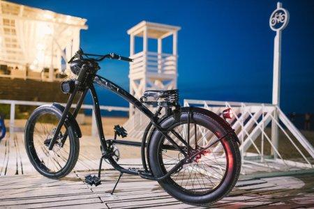 custom chopper bicycle