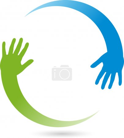 Hand, Zwei, Physiotherapie, Heilpraktiker