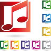 Musik Noten Singen Logo