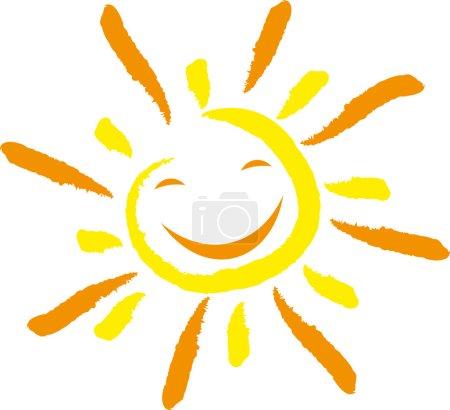 Sonne, Gesicht, Lachen, smile