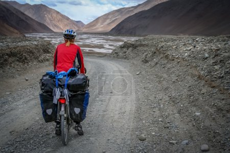 On tibetan road