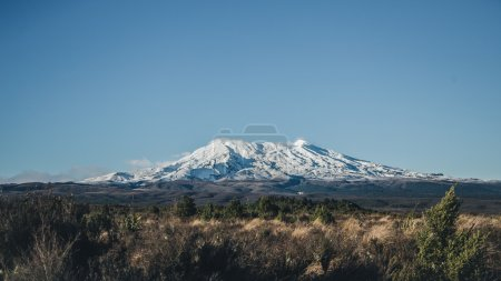 Mount at Tongariro National Park