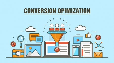 Conversion optimization vector concept