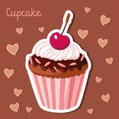 Sladké koláčky. Sada barevných chutné vektor