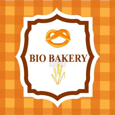 Sammlung von Retro-Bäckereiabzeichen und -Etiketten