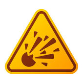 Danger warning attention sign icon