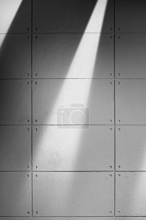 Gray Concrete Wall With Shadow Texture