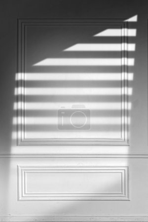Gray Wooden Luxury Wall Shadow Texture