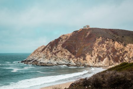 Montara State Beach in San Mateo, California