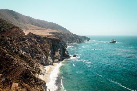 California Coast near Bixby Bridge