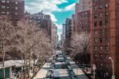 "Постер, картина, фотообои ""Зданий и улиц вблизи Midtown Манхэттена, Нью-Йорк Сити"""