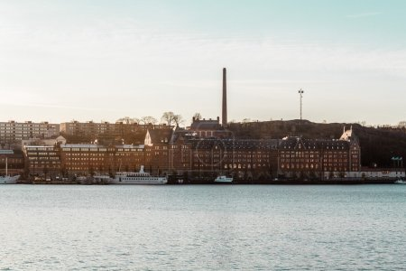 Buildings and Islands of Stockholm, Sweden