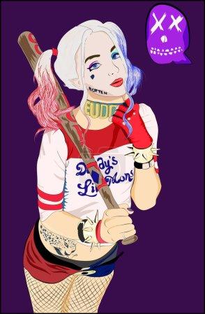 Illustration: Harley Quinn