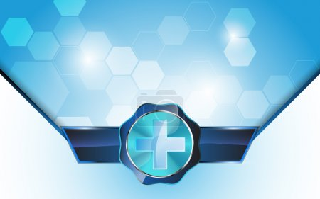 Medical health care concept background