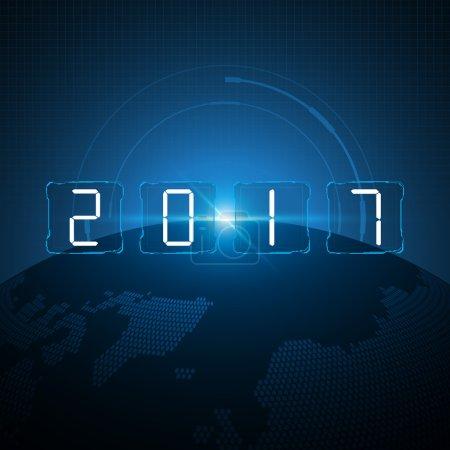 Global tech 2017 new year