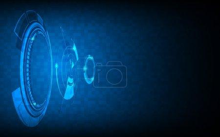 Digital networking technology background