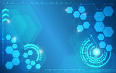 Blue polygon abstract texture background