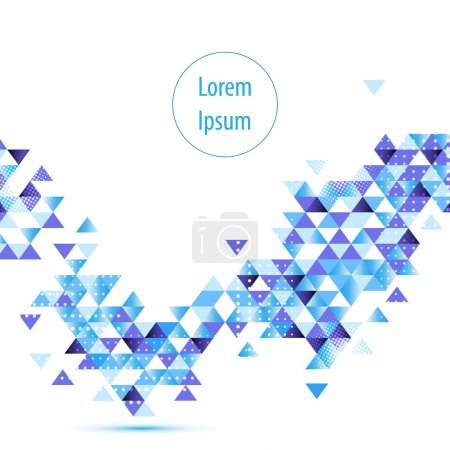 Blue digital hi tech concept background