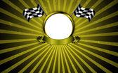 Vintage motorsport racing concept background