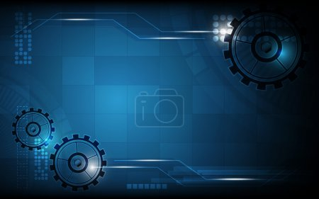 Abstract machine working background