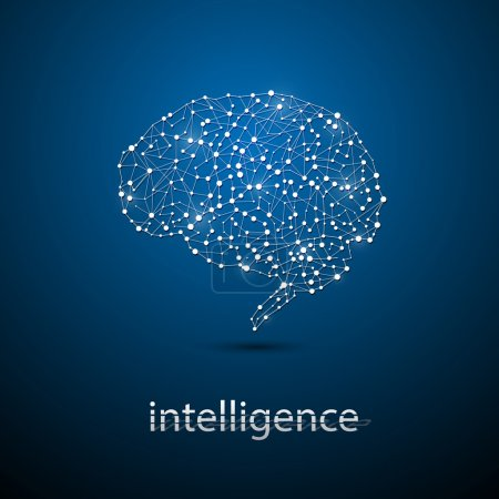Brain technology innovation intelligence concept