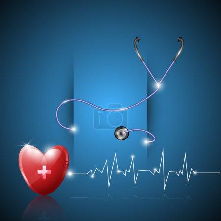 Photo pour Résumé papier de soins de santé fond de conception - image libre de droit
