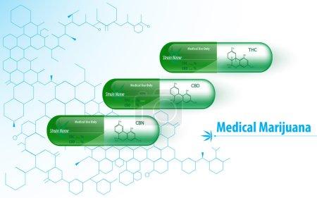 Medical marijuana capsules