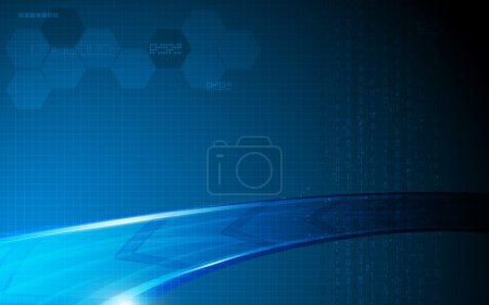 Abstract arrow movement technology background