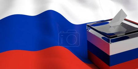 3d rendering elections in Russia