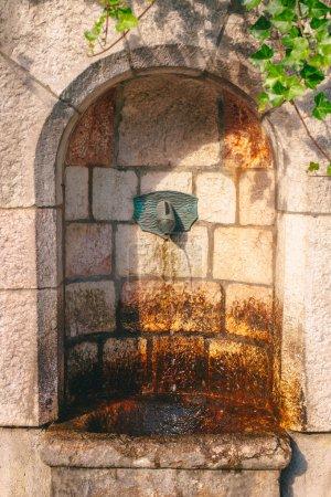 Stone and source of drinking water Hallstatt...