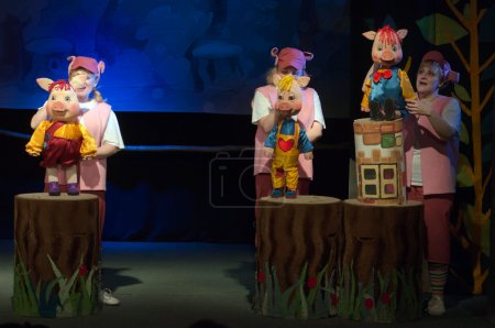 The tale The Three Little Pigs