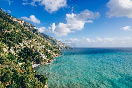 Amalfi Coast and seascape
