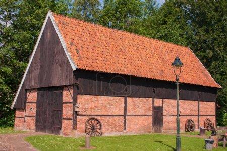 Ancienne grange hollandaise à Ootmarsum, Overijssel, Pays-Bas