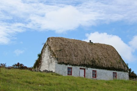 Typical Irish Thatched Cottage
