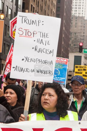 May Day Protest In Chicago Against Donald Trump