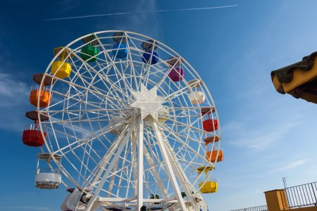 grande roue de ferris sur le Tibidabo