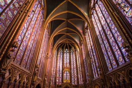 Sainte-Chapelle, Holy Chapel, in Paris