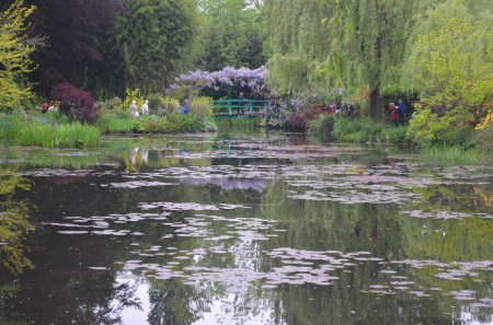 Gardens of Monet in Giverny