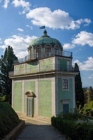 antique building at Giardino Bardini