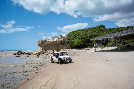car on beach,  Beberibe